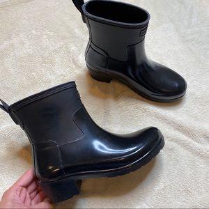 HUNTER Original Refined Mixed Finish Rain Boot 5